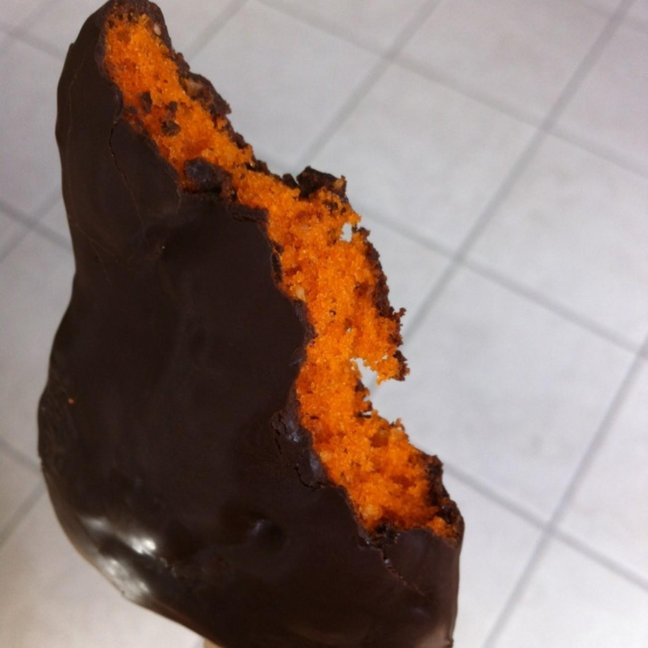 Gebackene Kuchenlollies zu Halloween