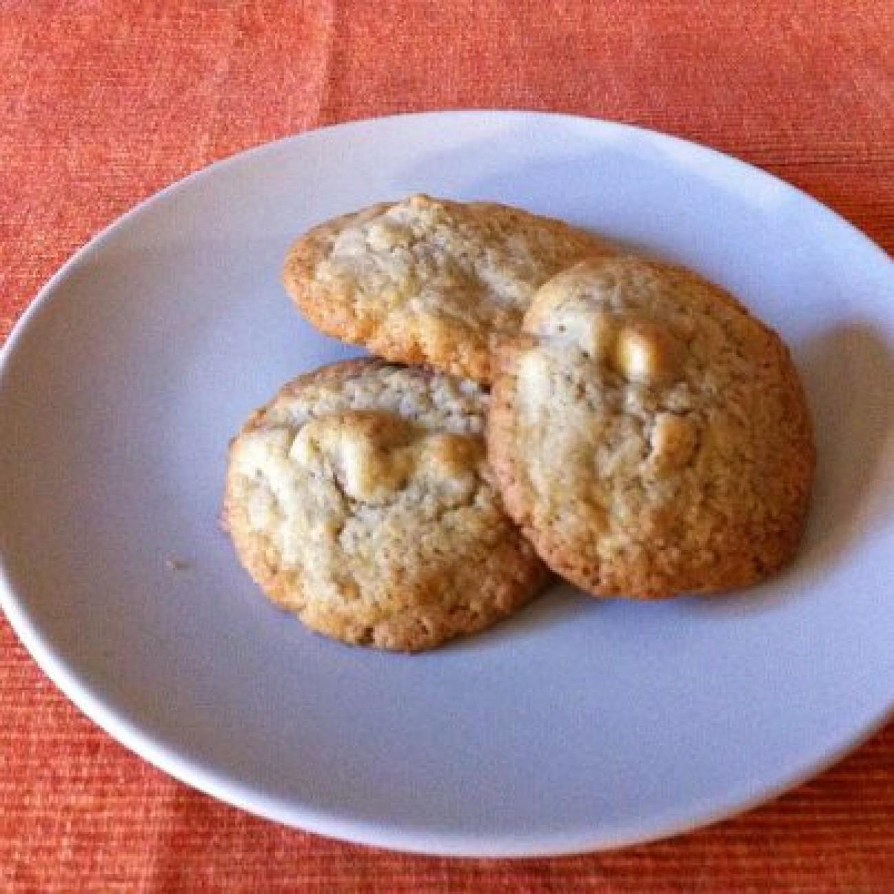 Walnuss Weiße Schokolade Cookies
