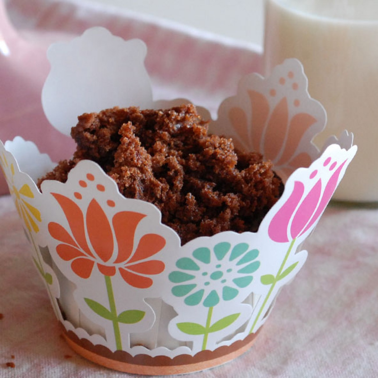 Maulwurfshügel Cupcakes