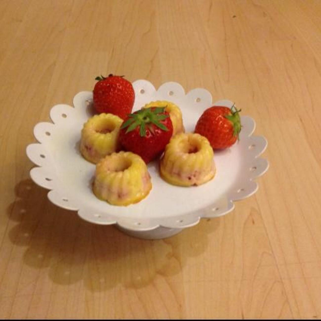 Käse-Erdbeer Gugl