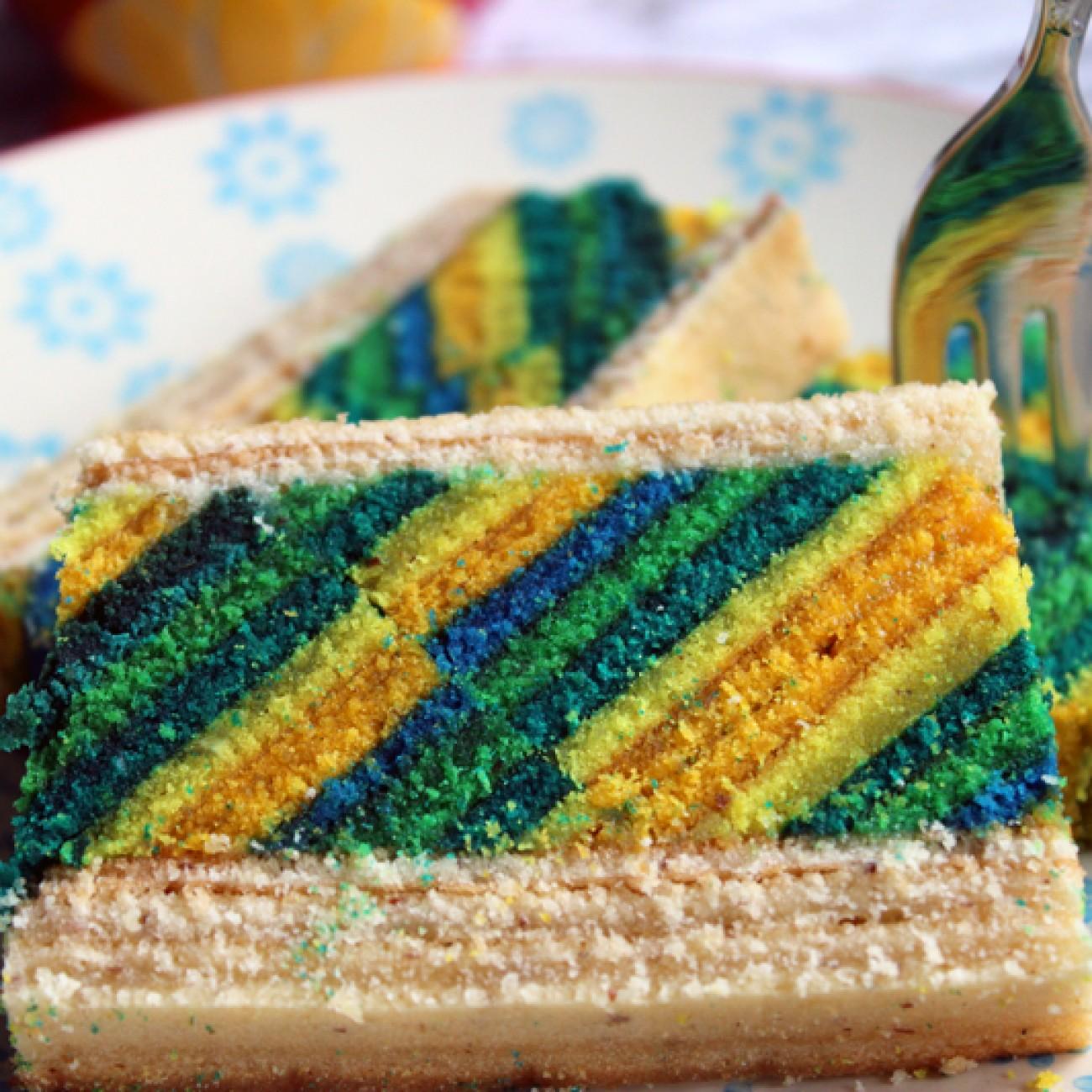 Layer Cake – Baumkuchen mit Muster