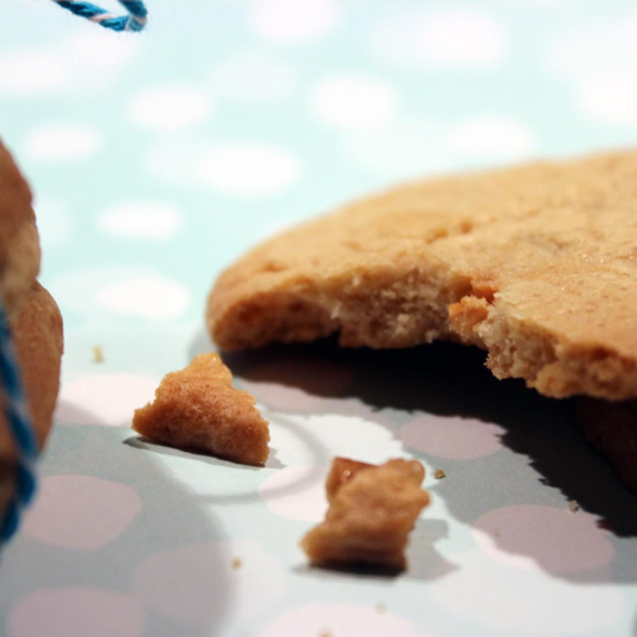Walnuss-Weisse Schoko Cookies