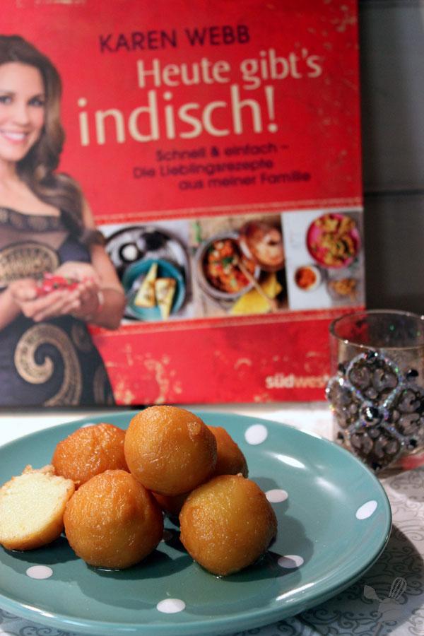 Milchbällchen aus Heute gibts indisch