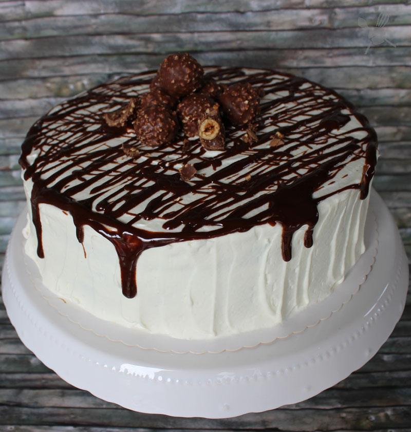 Rocher Nougat Torte